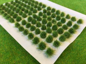 Serious Play Swamp Green 6mm Standard Tufts (98 per sheet)