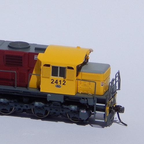 HOn3.5 Queensland Rail 2400 Class locomotive #2412 Wuiske Models