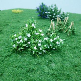 """Elderflower 1"""", Tall HO-scale, white, 10/pk MP Scenery"""