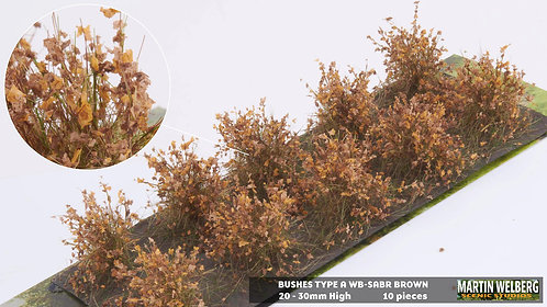 Bushes type A brown Martin Welberg