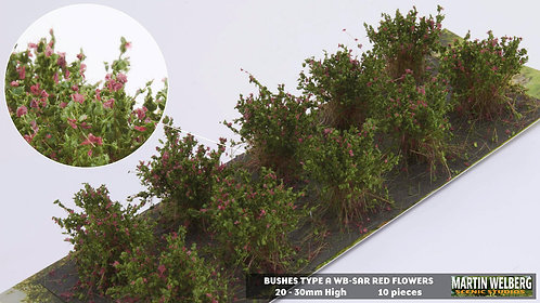 Bushes type A red Martin Welberg