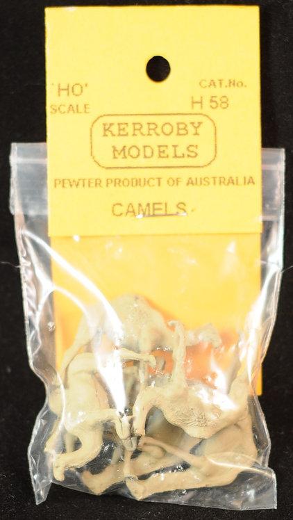 6 x Camels HO Kerroby Models KM-H58