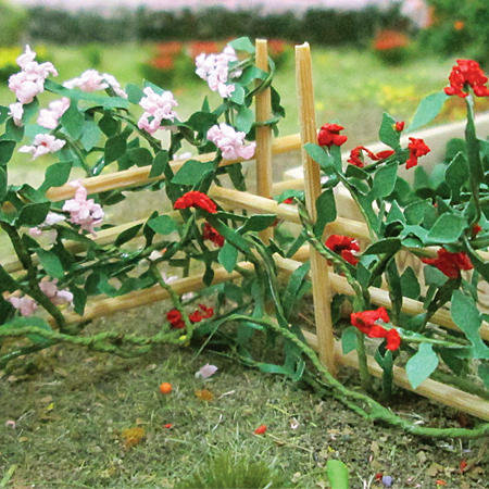 "Climbing Roses 1-3/8"", Length HO-scale, 6/pk MP Scenery"