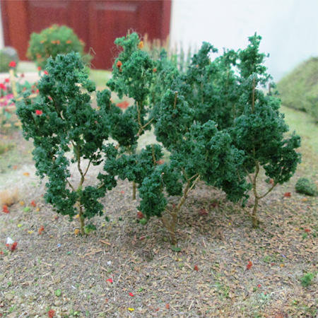 "Dark Green Branches 1.5"" to 3"", 50/pk MP Scenery"