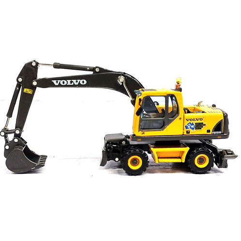 1:87 diecast Volvo EW180B Mobile Excavator