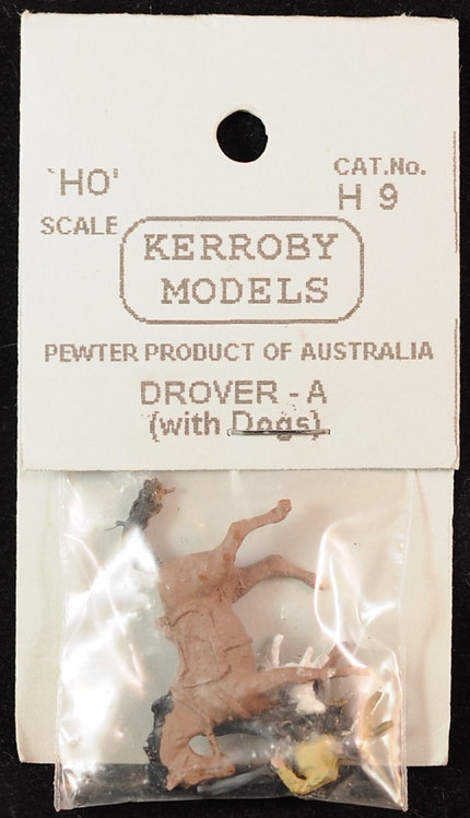 4pce Drover With Dogs - A HO Kerroby Models KM-H9