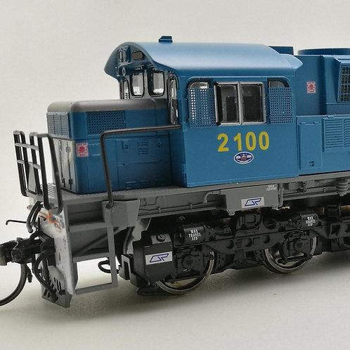 HOn3.5 Queensland Rail 2100 Class locomotive #2100 Wuiske Models