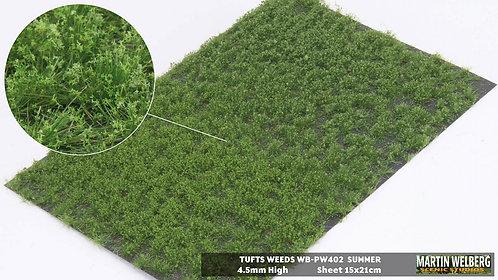 Tufts weeds 4.5mm summer Martin Welberg