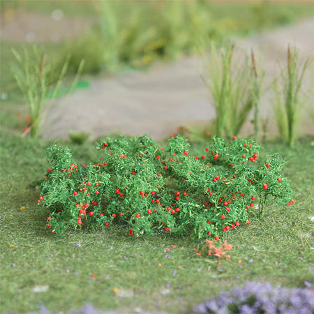 "Tomatoes 3/4"", Tall HO-scale, 16/pk MP Scenery"