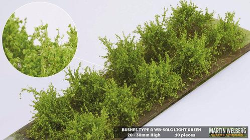 Bushes type A light green Martin Welberg