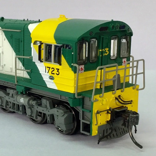 HOn3.5 Queensland Rail 1720 Class locomotive #1723 Wuiske Models
