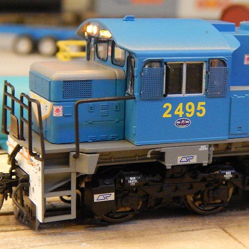 HO Queensland Rail 2470 Class locomotive #2495 Wuiske Models