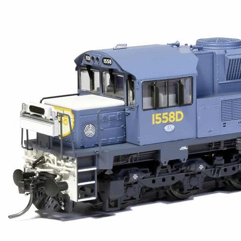 HO QUEENSLAND RAIL 1550 loco Q1504 Southern Rail Models