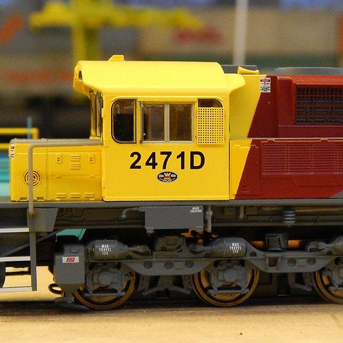 HO Queensland Rail 2470 Class locomotive #2471D Wuiske Models