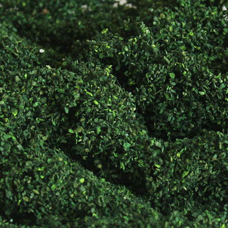 Dark Green Foliage Clusters - Coarse, pack of 150 Sq. In. MP Scenery