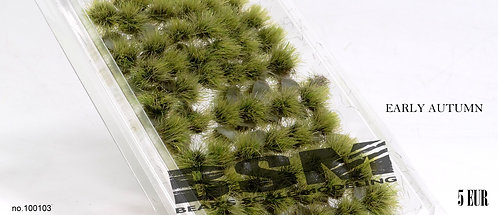 Self Adhesive Grass Tufts Early Autumn Tufts Bear's Scale Modelling