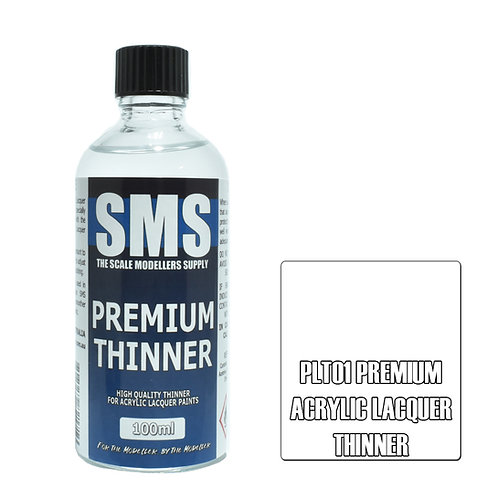 SMS Acrylic Lacquer Thinner 100ml SMS-PLT01