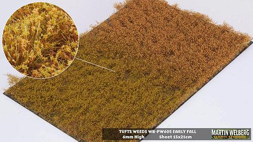 Tufts weeds 6mm golden summer Martin Welberg