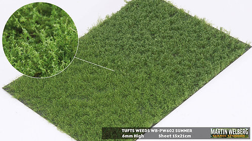 Tufts weeds 6mm summer Martin Welberg