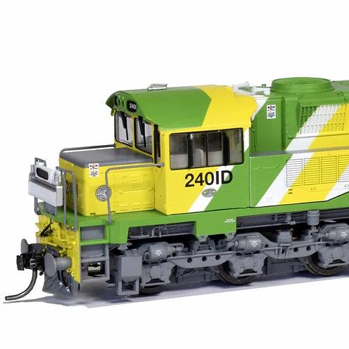 HO QUEENSLAND RAIL 2400 loco Q24/06   QR ? With DCC & Sound Southern Rail Models