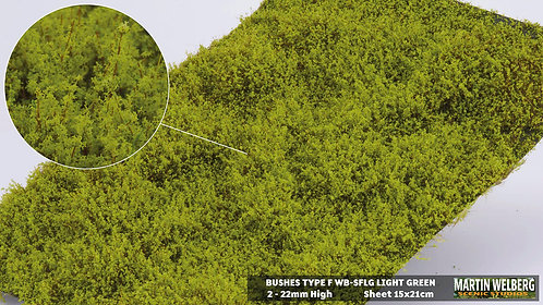 Bushes type F Light Green Martin Welberg