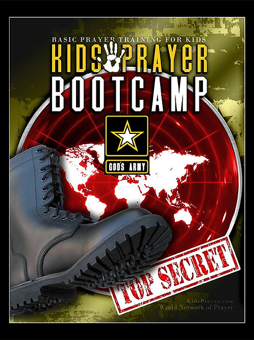 KIDS PRAYER BOOT CAMP