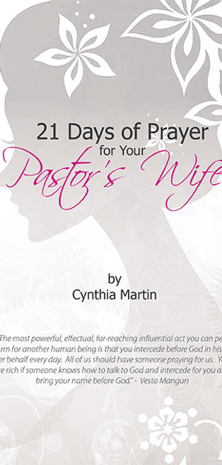 21 Days of Prayer for Your Pastor's Wife