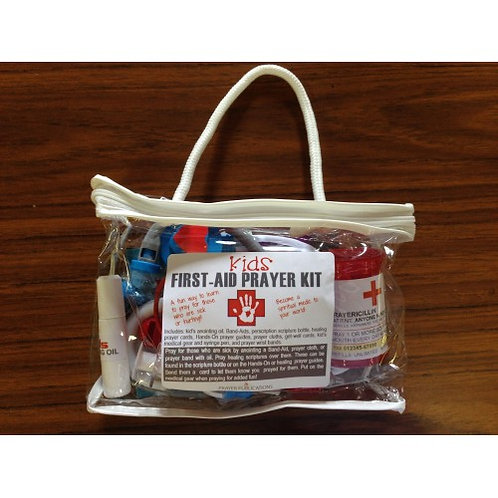 First-Aid Prayer Kit (for kids)