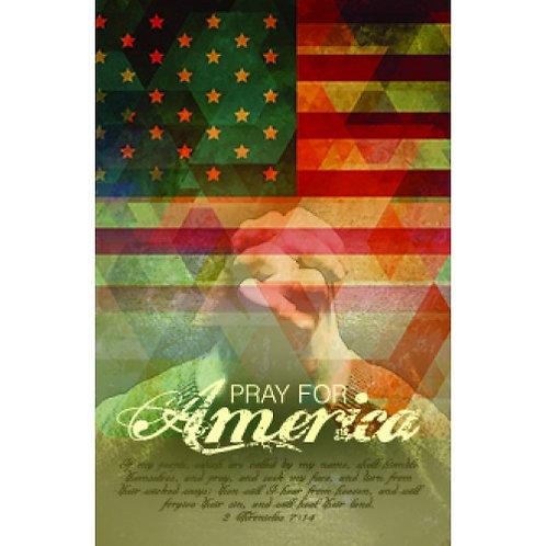 Pray for America Poster