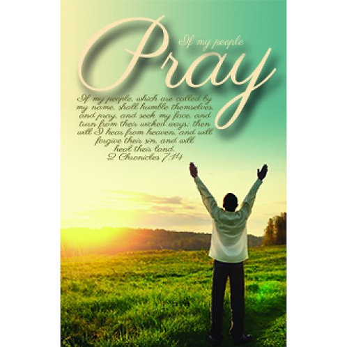 If My People Pray Poster