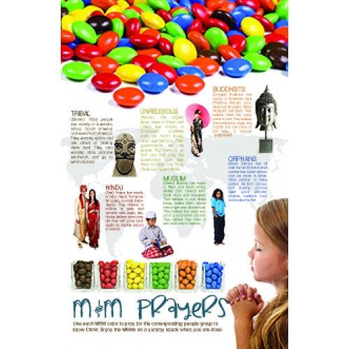 M&M Prayers Poster