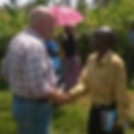 Craig Esboldt with Pastor Rubin