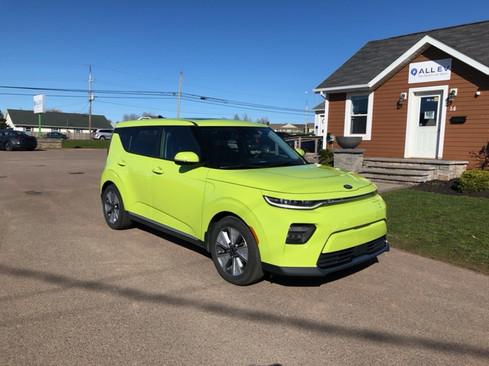 2020 Kia Soul Limited EV