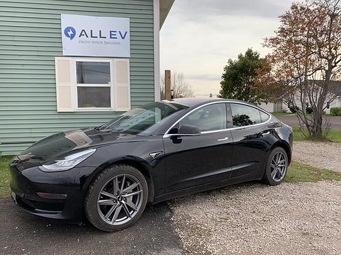 2018 Long Range Tesla Model 3 RWD rebated price see details