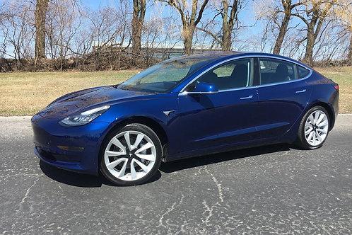 2018 Tesla Model 3 LR RWD #7983 rebated price see details