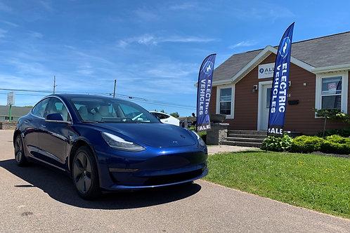 2019 Standard Range Plus Tesla Model 3 RWD 2277  rebated price see details