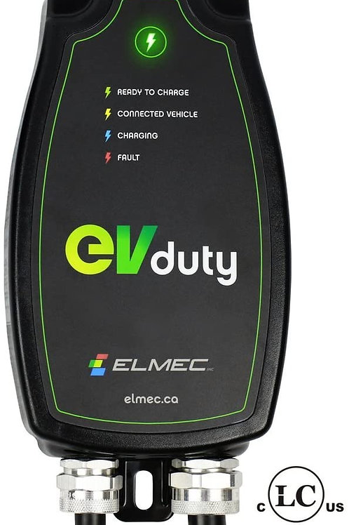 EVduty-40 (30A) portable electric charging station, NEMA 14-50P