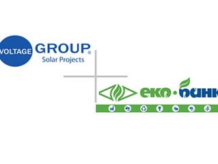 «Voltage group» стала третім в Україні еко-партнером «Укргазбанку»!