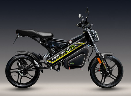 Extinction protests maybe caused by lack of Chinese electric motorcycles!