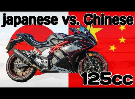 Similarities and differences between the early Japanese and Chinese motorcycle industries