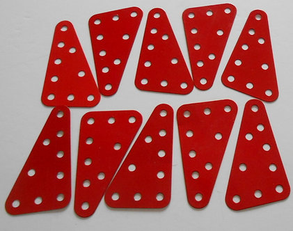 5 x 3 Flexible plates red