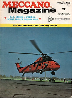 Meccano Magazine October 1972