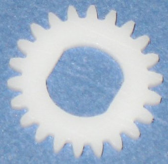 22 tooth Delrin Gear Disc