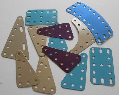 Mixed pack of Metallic flex plates