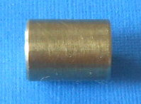 "1/2"" Brass Roller-spacer threaded"