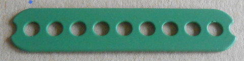 Connecting Strip 9 holes