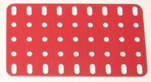 Flat Plate 5 x 9 holes