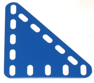 Triangular Flexible Plate 5 x 5 holes