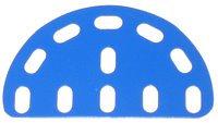 Flexible Plate semi circular 3 x 5 holes