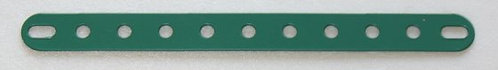 11 hole Perforated strips slotted ends